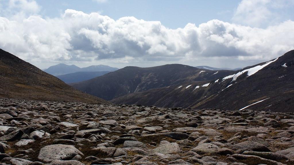 Carn a' Mhaim from below Derry Cairngorm