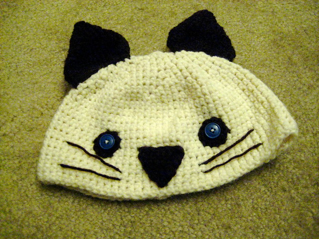 PlanetJune by June Gilbank » crocheted cat hat