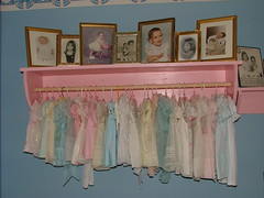 Guest Room: Vintage Baby Dress Collection photo by cwalsh415