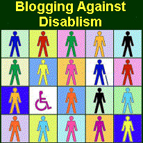 matrix of 16 standard-male-type icon people, standing, sitting in wheelchair, with cane
