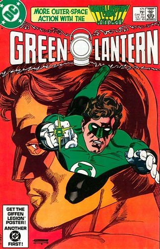 Green Lantern 171 cover by Gil Kane