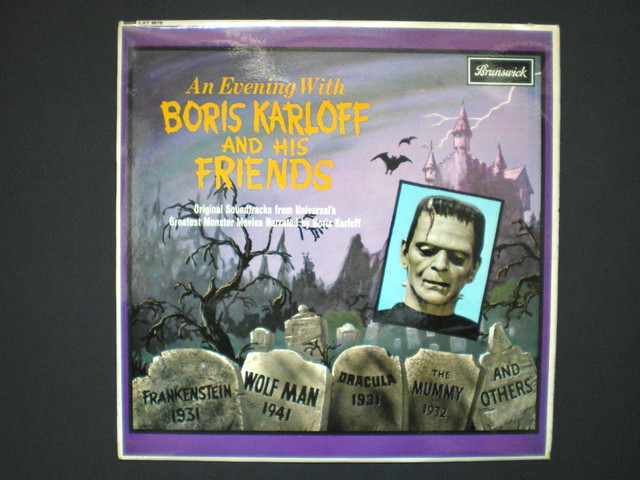 Boris Karloff vinyl LP | Flickr...