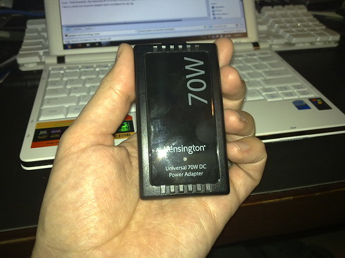 01/10/2009 - kensington power adapter