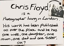 Chis Floyd - about