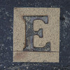 City Carpet Letter E