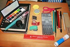 Travel Sketching Supplies