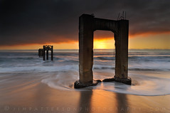 Abandoned Pier - Davenport, California photo by Jim Patterson Photography
