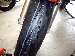 new dunlop Q2s on SV650