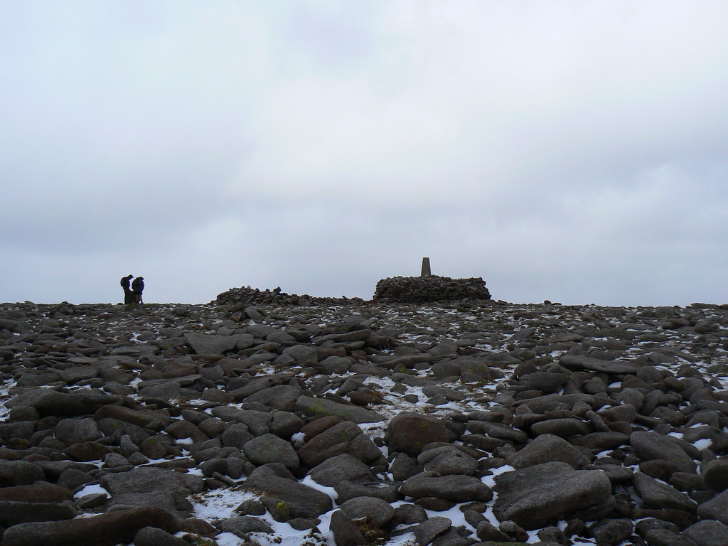 Summit of Ben Macdui (1309m)