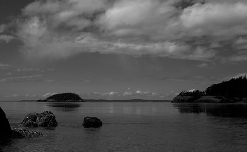 The view across Deception Pass