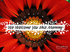 Christian Backgrounds Wallpaper - We Welcome You This Morning 5 photo by crossmap backgrounds