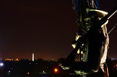 Air Force Memorial Statues, Overlooking Washington Monument [EXPLORE] photo by WilliamMarlow