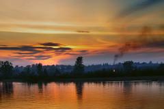 Sunset on Neva River photo by christian.senger