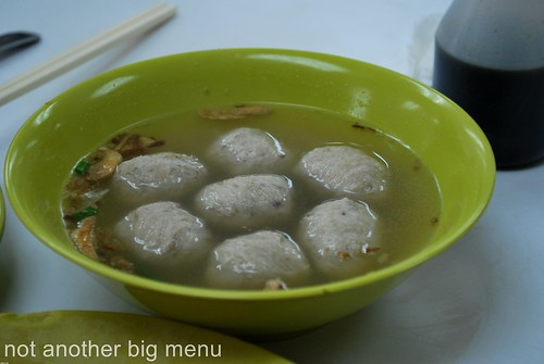 Jalan Gasing chicken rice meatball