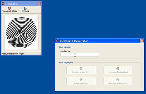 ACS CheckPoint Part 5: Configuring the M2sys Vein Scanning Client
