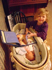 Reading to the Baby