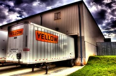 Yellow Freight HDR photo by Thomason Images-Im back Will be catching up