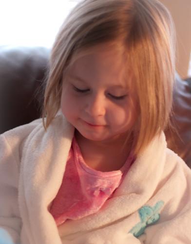 Mia's robe