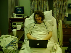 In Labor and Surfing the Web