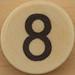 Sudoku Black Number 8
