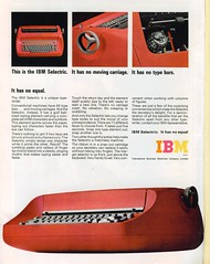 IBM Selectric - TIME - June 17 1966 photo by Connor Molloy
