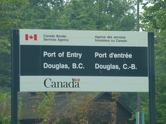 Entrance to Canada