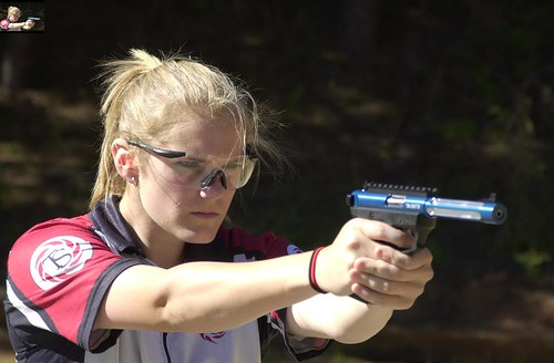 Kaci and her Tactical Solutions Ruger MK III for Standard category