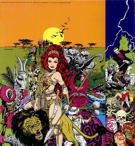 Steranko Comic Collector cover 2