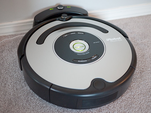 Our New Toy - iRobot Roomba