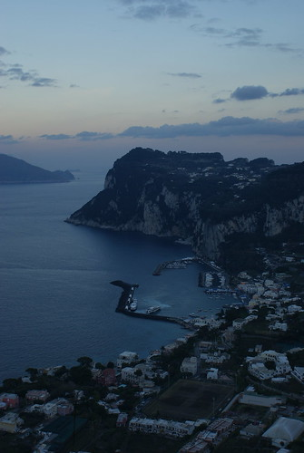 Evening in Capri