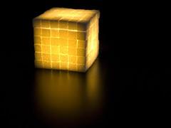 sugar cube light