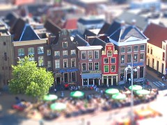 Groningen in Tiltshift photo by simonline