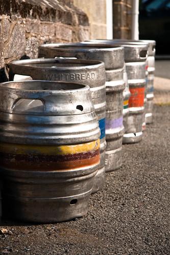 Empty Kegs