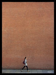 The Red Brick Wall photo by Mick H 51