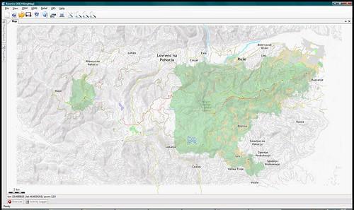 Kosmos: Pohorje Hiking Map