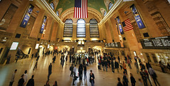 Grand Central Terminal in New York photo by Werner Kunz