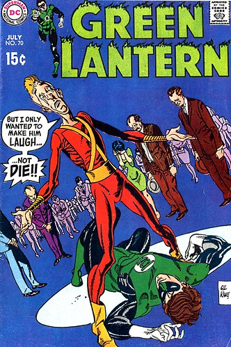 Green Lantern 70 cover by Gil Kane
