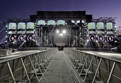 Ultra Music Festival - Main Stage Sound and Light Check photo by DiGitALGoLD