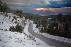 Atardecer en el Parque Natural de la Sierra de Huétor II / Sunset in Huetor Natural Park II photo by Luis Marín