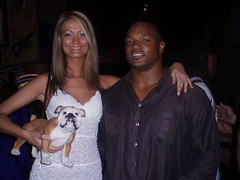Debbie Schjodt, Dwight Freeney and Frank