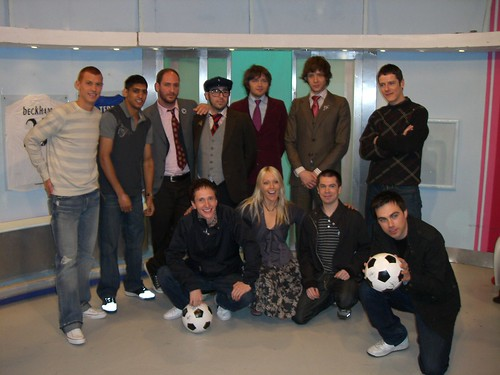 OK Go with Hard-Fi at Soccer AM