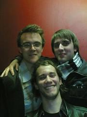 Stuart, Me & Dan (in front)