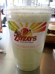 fresh mint shake
