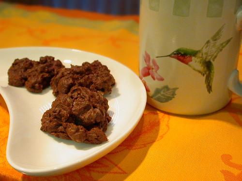 チョコレートメレンゲクッキー