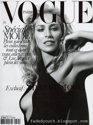 sharon stone french vogue