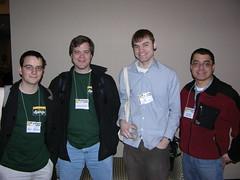 Simon, Jeremy, Adrian, and Arnaldo