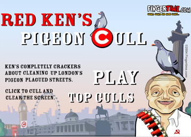 Ken's Pigeon Cull Game - click to play