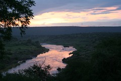 Sunrise from Olifants wilderness camp