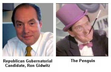 Separated at Birth? Ron Gidwitz and The Penguin