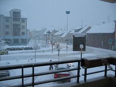 Saint-Louis sous la neige